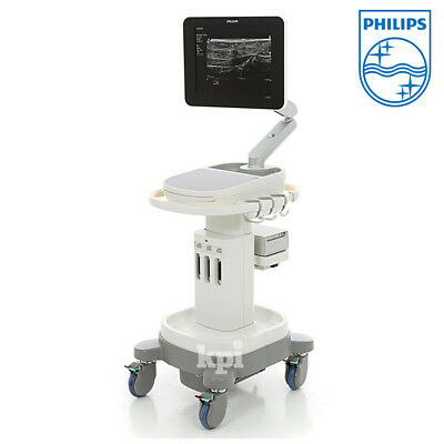 CV Philips Sparq Ultrasound System Machine Scanner Abdominal Adult Echo Probes