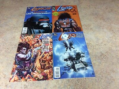 Lobo Comics Lot Of 4 Comic Nm 1992-1994 Dc