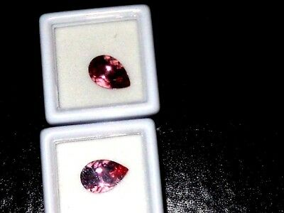 Zandrite  color change stones set of 2  12 x 8 mm Pear shaped 5 carats