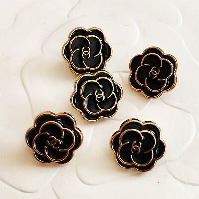 Chanel Buttons Set of 5 8 MM