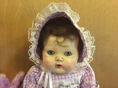 1959 16 Vinyl Vintage American Character Tiny Tears Baby Doll