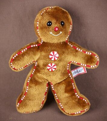 Gingerbread Man Plush Doll Douglas 2011 Christmas 7 Stuffed