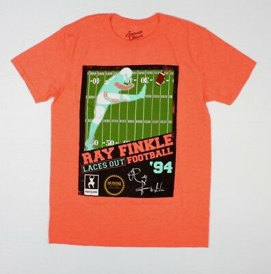 Ace Ventura Pet Detective Ray Finkle Laces Out Football 94 T-Shirt New! (2C1