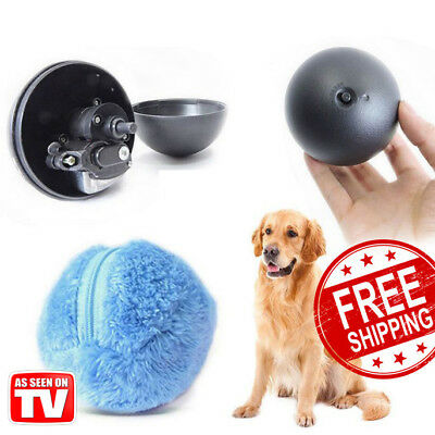 Amusing Magic Roller Ball Toy Automatic for Dog Cat Pet - 4 Colors set