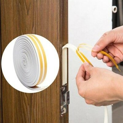 12M Home Weather Door/Window Draught Excluder Insulation Seal Strip Sticky Tape