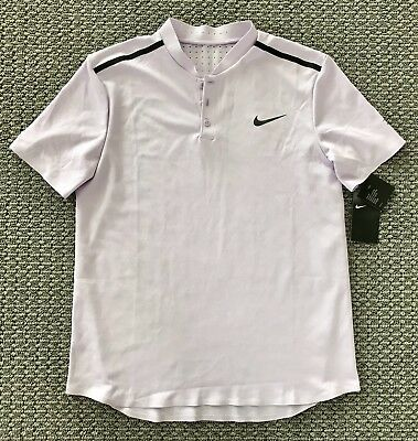 9f07b32b8 NWT Nike Tennis Premier Advantage ROGER FEDERER Henley Shirt! L! SOLD OUT!  $100