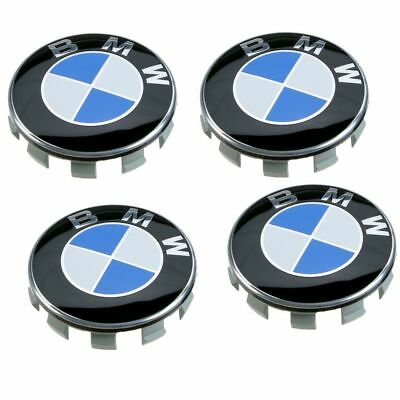 4pcs 68mm Wheel Center Caps for BMW E36 E39 E46 E53 E60 E90 F30 F10 F20 X5 E36