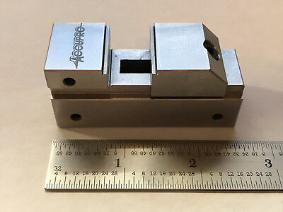 """Tool maker precision vise, 1"""" Accupro, new, machinist tool"""