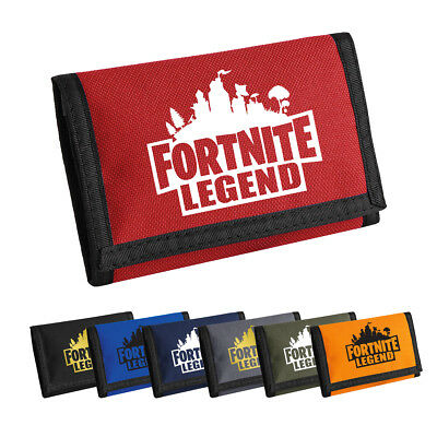 FORTNITE LEGEND WALLET Kids Money bag Gamer Gaming Christmas Gift Xbox PS4 Rip