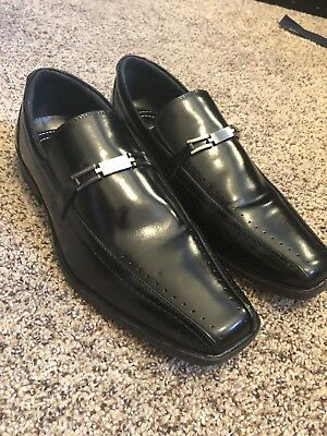 f7e9f072ab5 Stacy Adams 10.5 M Men s Dress Shoes Slip On Loafer Black