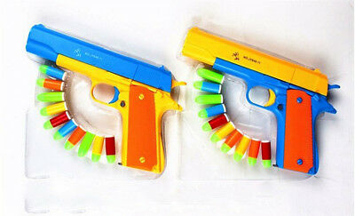 Nerf Toy Gun Pistol Toys Classic Kids Sniper Strike Dart Guns With Soft Bullets