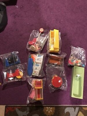 Vintage Plastic Miniature Doll House Furniture Large Lot Barbie Accessories