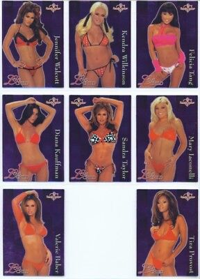 "Love Child ""complete 8 Card Set"" Benchwarmer 2004 Series 1 Kendra Wilkinson"