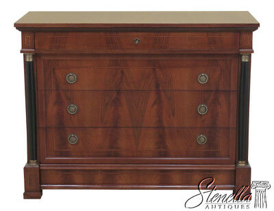 45907EC: DECORATIVE CRAFTS  Italian Walnut Chest Or Commode