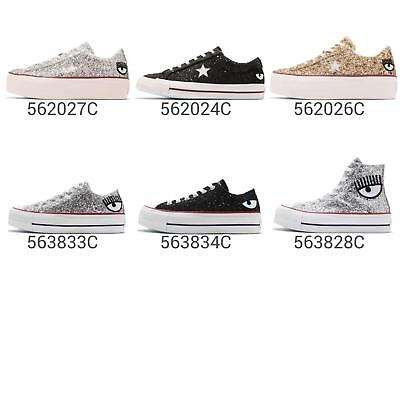 3afb6847807a CONVERSE X CHIARA Ferragni One Star OX   All Star 70   Platform Glitter  Pick 1 - EUR 128