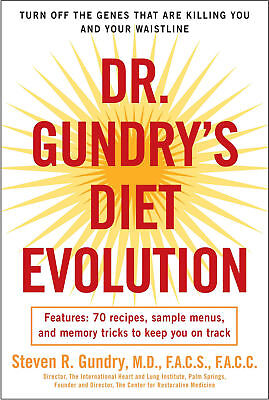 DR. Gundry's  Diet Evolution_70 Recipes_This Is Not a PaperBack[Eb00k/PDF]