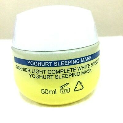 50 g Garnier Skin Yoghurt Night Cream Permanent Face Acne Treatment Serum