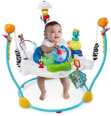 Baby Einstein Journey of Discovery Activity Jumper w Sounds Toys Tray for Baby