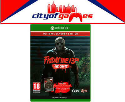 Friday the 13th The Game Ultimate Slasher Edition Xbox One XB1 Game Brand New