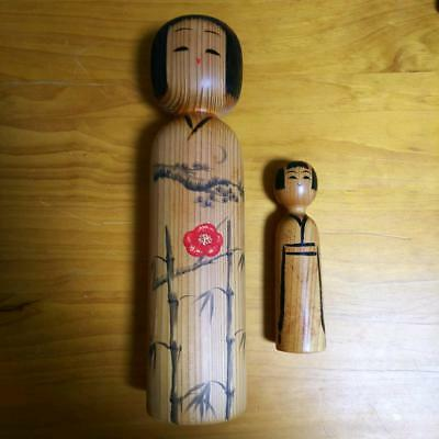 Kokeshi Japanese traditional craft cute rare popular vintage large small F / S!