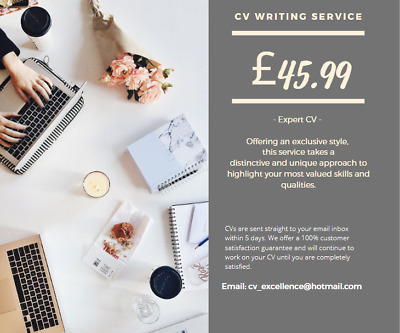 CV Writing Service - Deluxe - FREE Cover Letter
