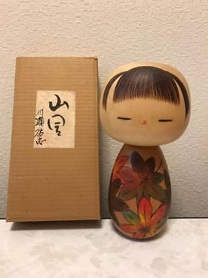 Kokeshi Japanese traditional craft cute rare popular vintage retro autumn F / S!