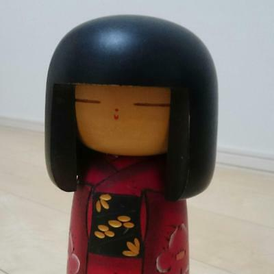 Kokeshi Japanese traditional craft cute rare popular vintage kimono girl F / S!