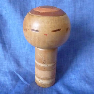 Kokeshi Japanese traditional craft cute rare popular by Sanpei Yamanaka  F / S!