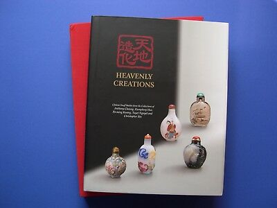 Tina Yee-Wan Pang Heavenly Creations  Snuff Bottles  University Hong Kong Signed
