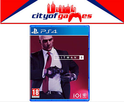 Hitman 2 PS4 Game Brand New & Sealed In Stock