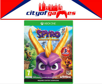 Spyro Reignited Trilogy Xbox One XB1 Game Brand New & Sealed In Stock
