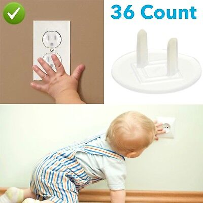 Outlet Plugs Baby Safety Children Safe Power Socket Protection Cover 36 Count