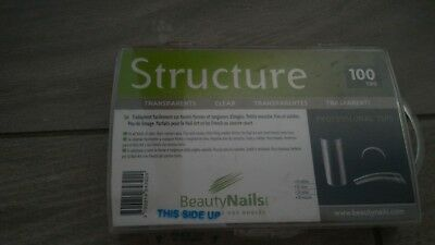 Tips ongles structure de BeautyNails  100tips neuf