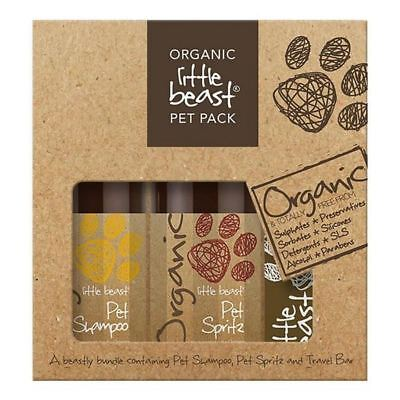 2x Little Beast Organic Pet Pack