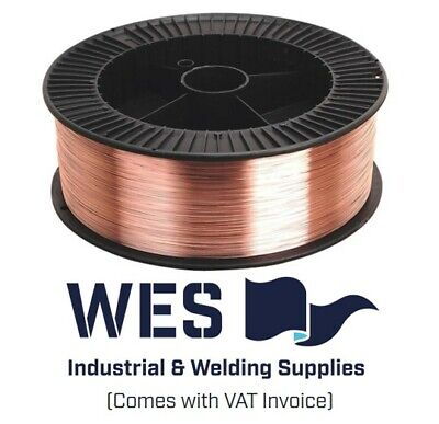 Mild Steel Mig Welding Wire ALL SIZES 15KG - 0.8, 1.0, 1.2