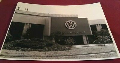 Old New Stanton PA. Volkswagen VW Auto Car Plant (Long Gone) Entrance Poster