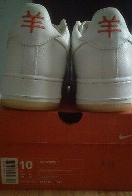 22f5346a590a3 2003 NIKE AIR Force 1 Low Premium SZ 10 year of the Goat YOTG 306146 ...