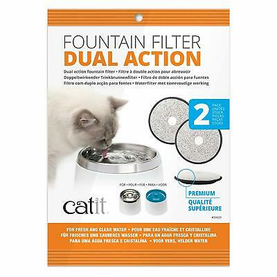 Catit Fresh & Clear Cartridges Fits Senses Cat It Water Fountain Drink Bowl