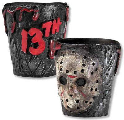 Jason Friday the 13th Shot Glasses Halloween Cocktail Party Adult Novelty Horror
