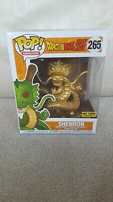Funko Pop Animation Dragonball Z Gold Shenron #265 Hot Topic Exclusive