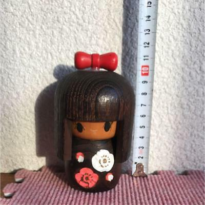 Kokeshi girl Japanese traditional craft cute rare popular vintage retro F / S!