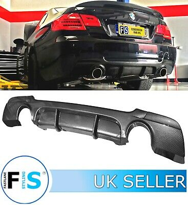 Bmw 3 Series E92 E93 335 Msport Rear Diffuser Splitter Valance Carbon Fibre Look