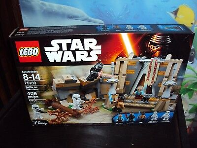 Star Wars Battle On Takodana Lego Set No # 75139 +Bonus Lego Figure ?