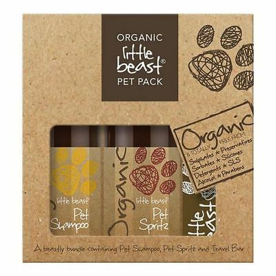 4x Little Beast Organic Pet Pack