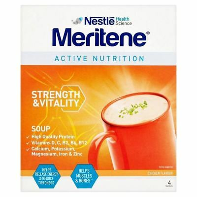 4x Meritene Chicken Soup 4 x 50g