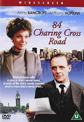 Anne Bancroft, Anthony Hopkins-84 Charing Cross Road (UK IMPORT) DVD NEW