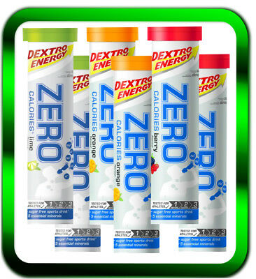 Dextro Energy Zero Calories  6x20 Tabletten | NEU Lime/berry/Orange