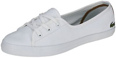 4df52976a LACOSTE ZIANE CHUNKY 217 1 CAW Women Trainers in Black   White ...
