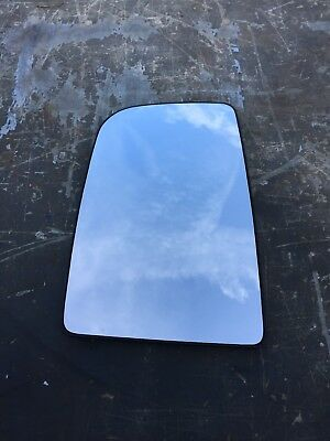 Vw Crafter Wing Mirror Glass Slide On Driver Side Offside Upper Heated 2006-2016