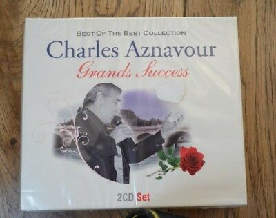 AZNAVOUR CHARLES  41 CHANSONS GRAND SUCCESS (CD x2) NEUF SCELLE